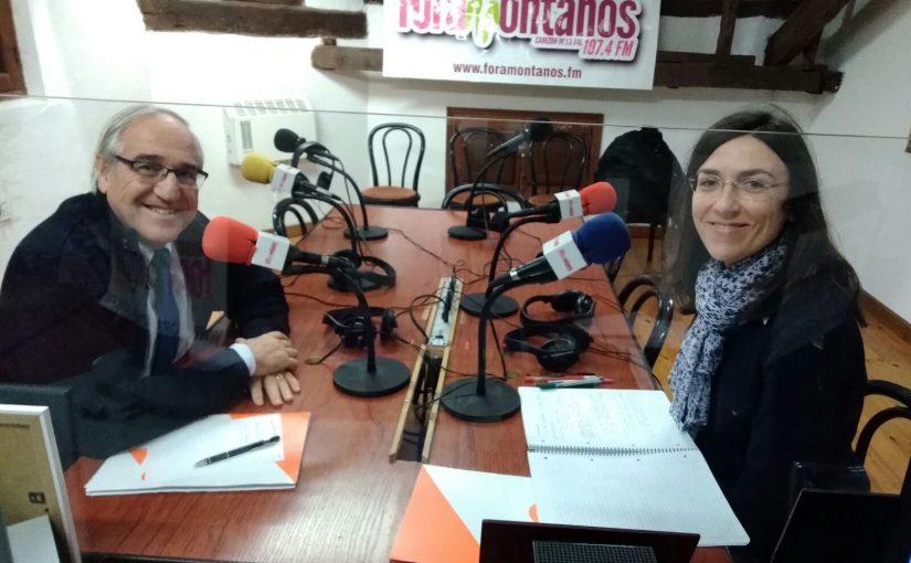 Jose López  Ciudadanos Corrales y Mónica Olvera Ciudadanos Cabezón de la Sal