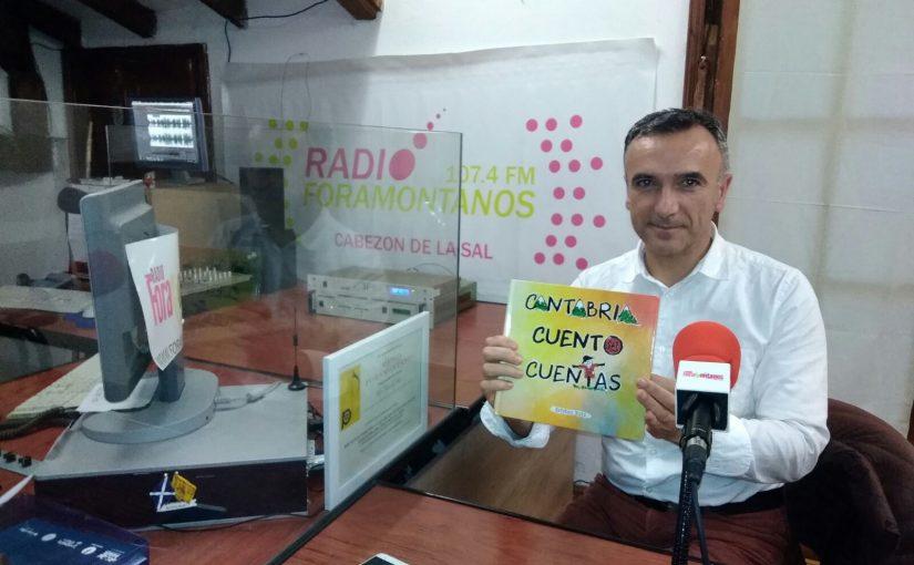 Esteban Ruiz presenta su nuevo libro, Cantabria Cuento Cuentas