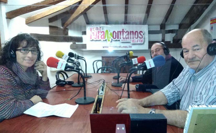 Juan (presidente), Salvador (vicepresidente) y Ana Riaño (secretaria) de la nueva Asociación de Vecinos Pico de la Torre.