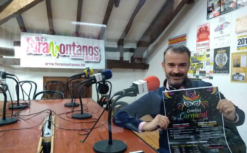 Pedro Velarde, habló de los Carnavales de Comillas