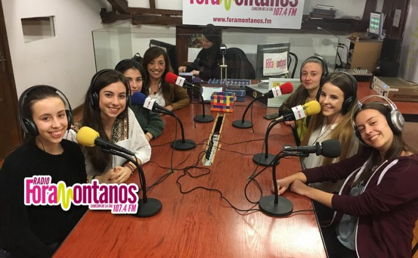 "Chicas de Ciencia ""Alumnas I.E.S Valle del Saja"