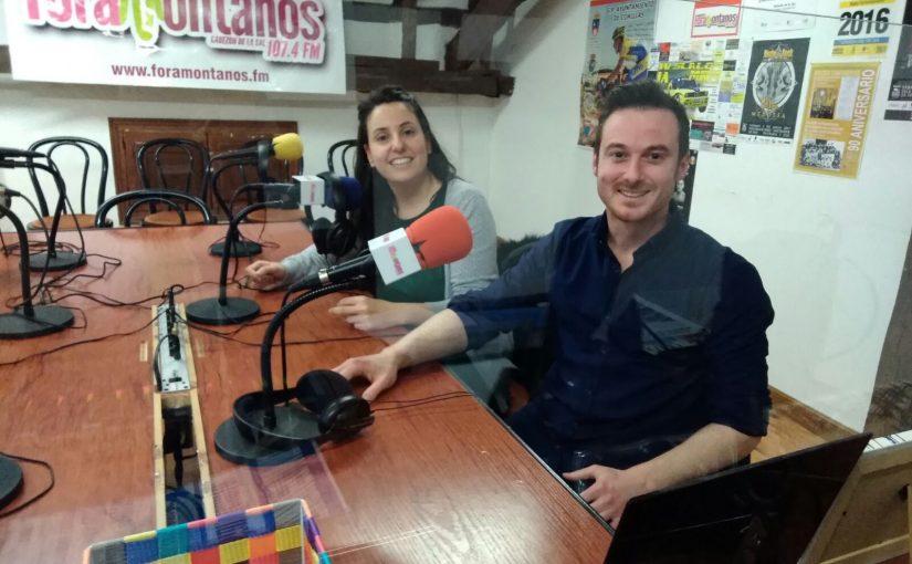 Miguel Angel Fonfria y Carolina nos hablan de las nuevas tecnologias en la adolescencia