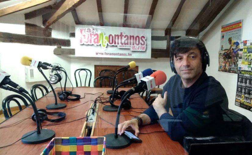 Juan Moran, dirige el club de relatos cortos en Cabezon Tinta y Sal