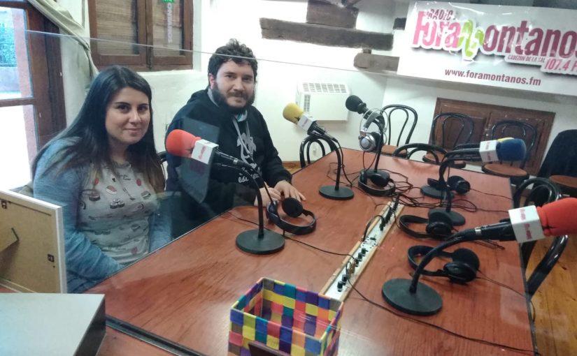La Escueluca , Maite Gil y Ángel Lanza