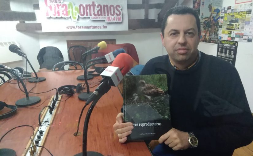 José Manuel Gutiérrez Romero, autor del libro 'Aves reproductoras de Cantabria'.