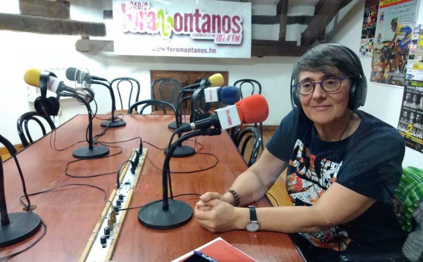 """Montserrat Aguirre , directora Escuela de adultos """"Margarita Salas de Cabezón de la Sal"""""""