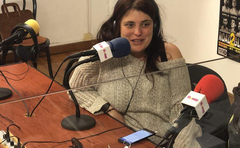 """Maria Diaz Angulo habla de los Viernes con Noches Eroticas en """"Café con Palabras"""""""