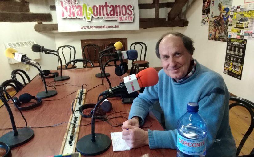 Enrique Campuzano, presidente de la Asociación de la Conservación de los Órganos de Cantabria