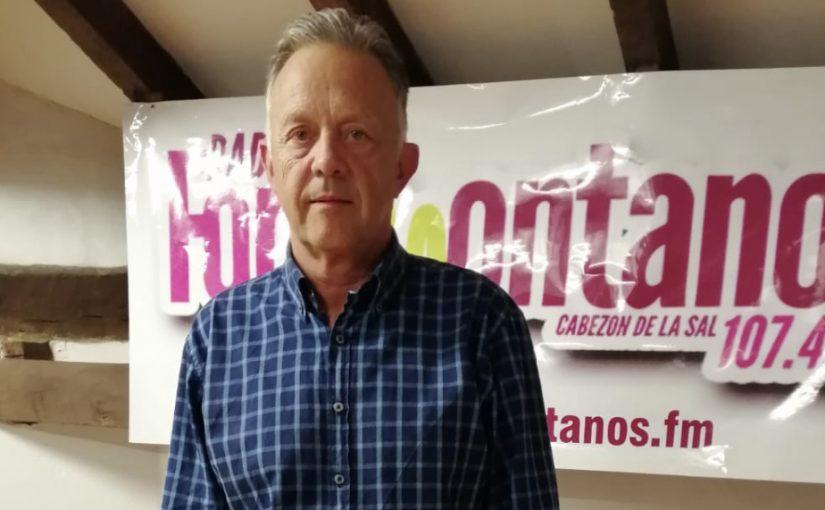 Eugenio Hereda ,teniente coronel del Centro Militar de Cría Caballar de Mazcuerras
